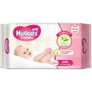 【好奇】厚型柔潤嬰兒濕巾-綠茶80抽(3包x6串)