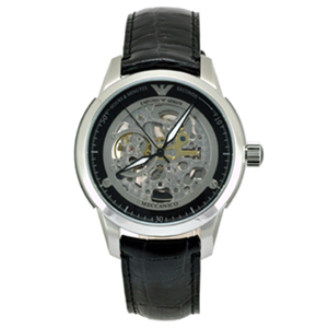 【 【EMPORIO ARMANI】頂級系列自動機械男錶(AR4625)】