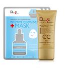 DF美肌醫生 買一送三 玻尿酸潤色防曬CC霜SPF50 40ml(贈保濕補水面膜3片)
